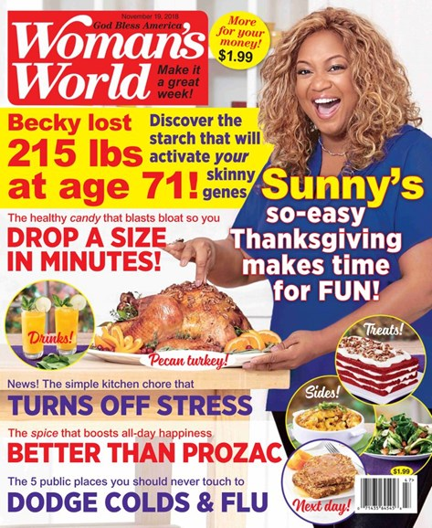 Woman's World Cover - 11/19/2018