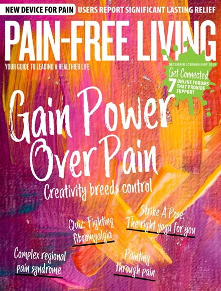 Pain-Free Living Cover - 12/1/2018