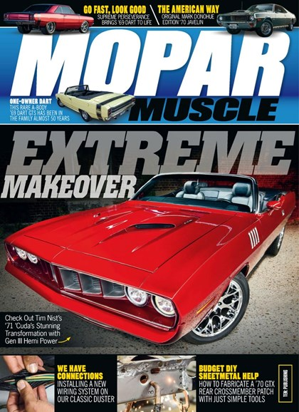 Mopar Muscle Cover - 2/1/2019