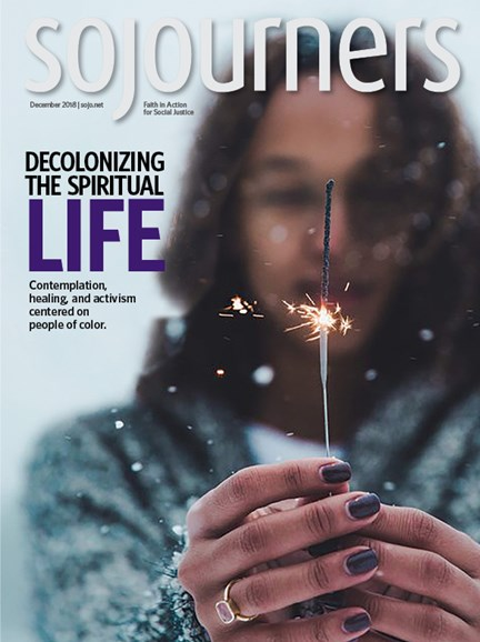 Sojourners Cover - 12/1/2018