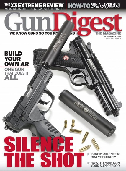 Gun Digest Cover - 11/1/2018