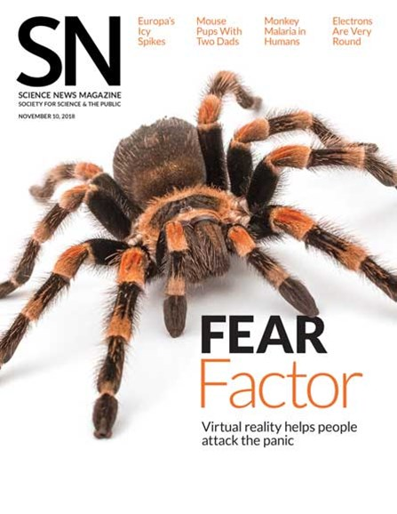 Science News Cover - 11/10/2018