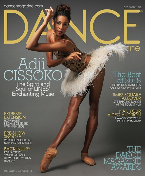 Dance Magazine Cover - 12/1/2018