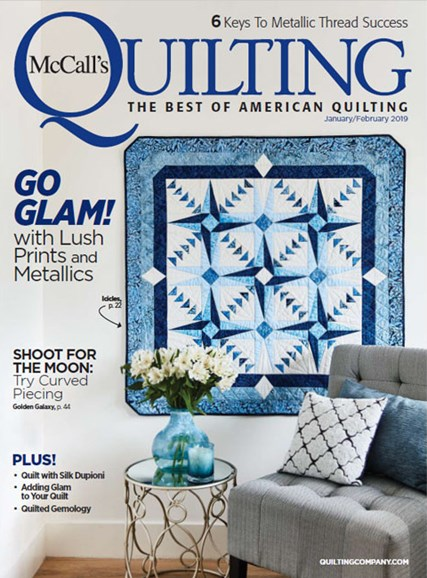 McCall's Quilting Cover - 1/1/2019