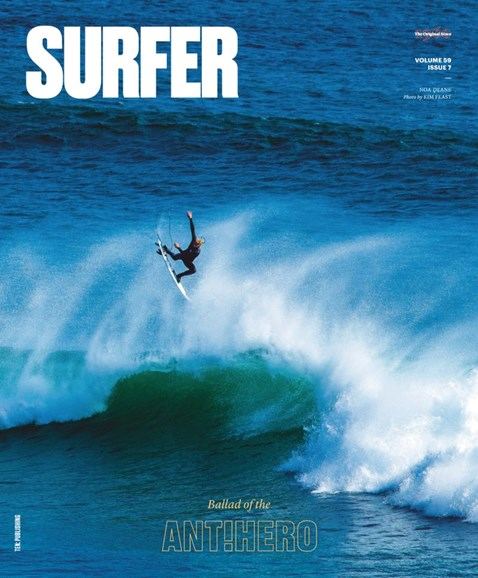 Surfer Cover - 12/1/2018