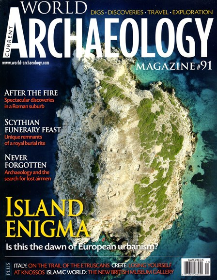 Current World Archaeology Cover - 10/1/2018