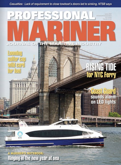 Professional Mariner Cover - 12/1/2018