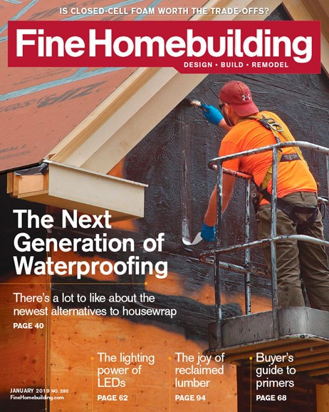 Fine Homebuilding Cover - 1/1/2019
