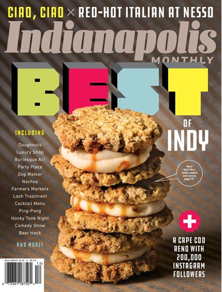 Indianapolis Monthly Cover - 11/1/2018