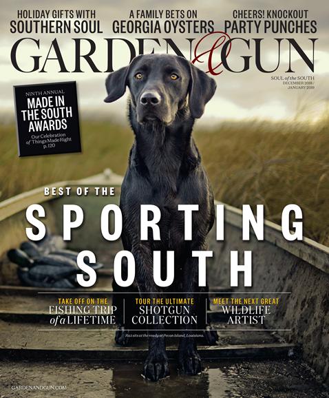 Garden & Gun Cover - 12/1/2018