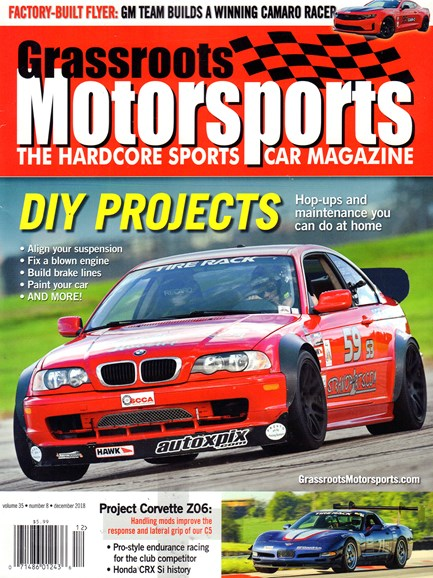 Grassroots Motorsports Cover - 12/1/2018