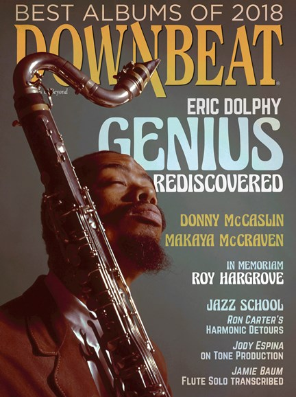 DownBeat Cover - 1/1/2019