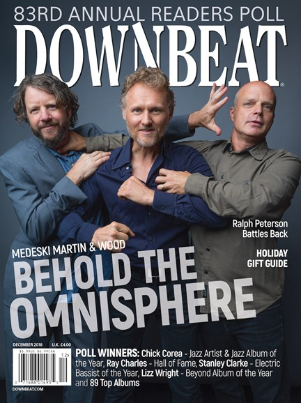 DownBeat Cover - 12/1/2018