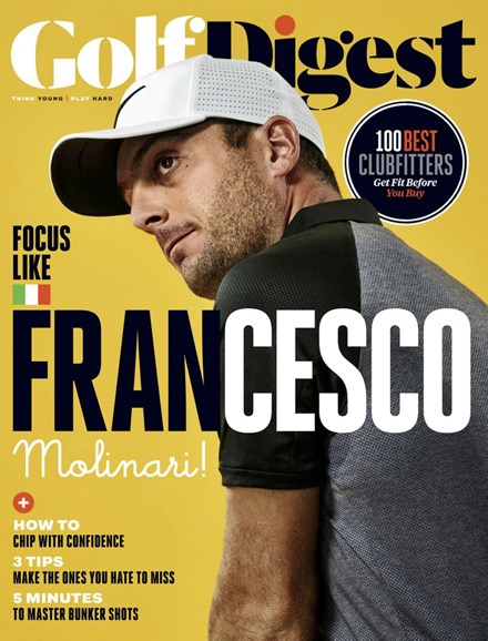 Golf Digest Cover - 12/1/2018