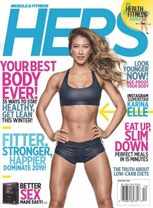 Muscle & Fitness Hers | 1/1/2019 Cover