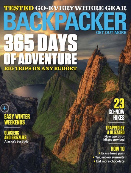 Backpacker Cover - 12/1/2018