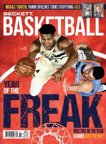 Beckett Basketball Cover - 11/1/2018