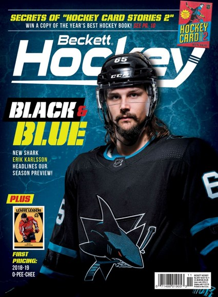 Beckett Hockey Cover - 11/1/2018