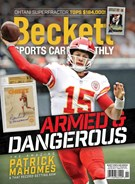 Beckett Sports Card Monthly Magazine 11/1/2018