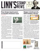 Linn's Stamp News Magazine 11/12/2018