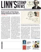 Linn's Stamp News Magazine 10/22/2018