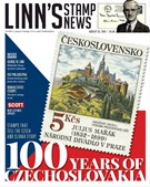 Linn's Stamp News Magazine 8/20/2018
