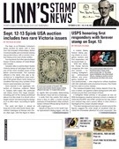 Linn's Stamp News Magazine 9/10/2018