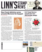 Linn's Stamp News Magazine 8/13/2018