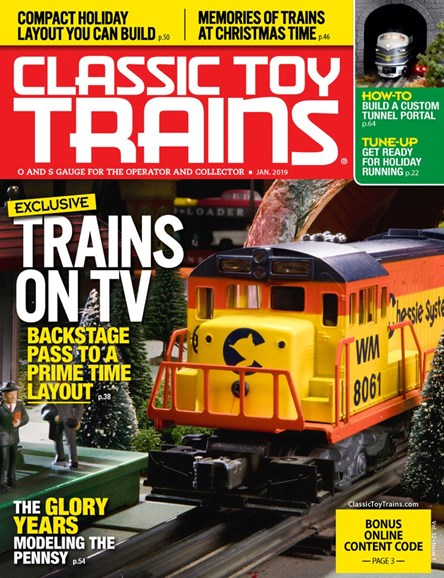 Classic Toy Trains Cover - 1/1/2019