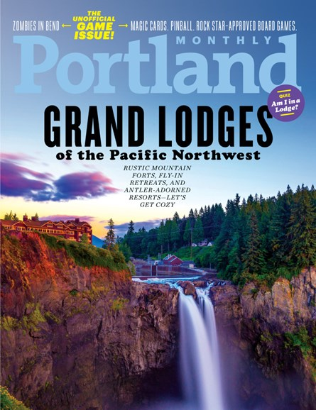 Portland Monthly Cover - 12/1/2018