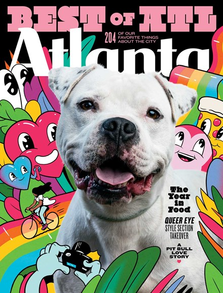 Atlanta Magazine Cover - 12/1/2018