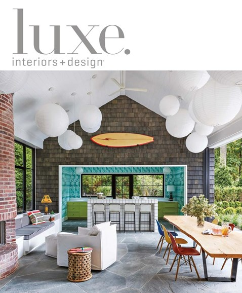 Luxe Interiors & Design Cover - 11/1/2018