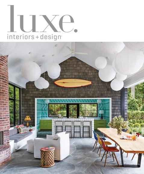 Luxe Interiors & Design Cover - 11/1/2018