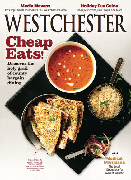 Westchester Magazine Cover - 12/1/2018