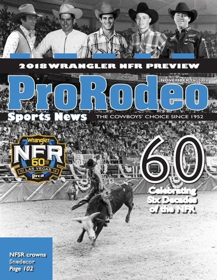 Pro Rodeo Sports News Cover - 11/16/2018