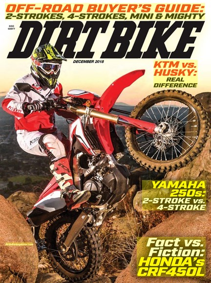 Dirt Bike Cover - 12/1/2018