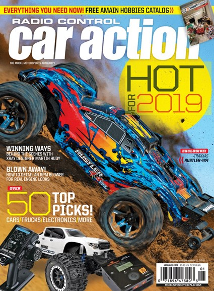 Radio Control Car Action Cover - 1/1/2019