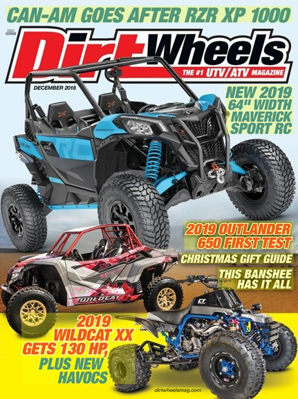 Dirt Wheels Cover - 12/1/2018