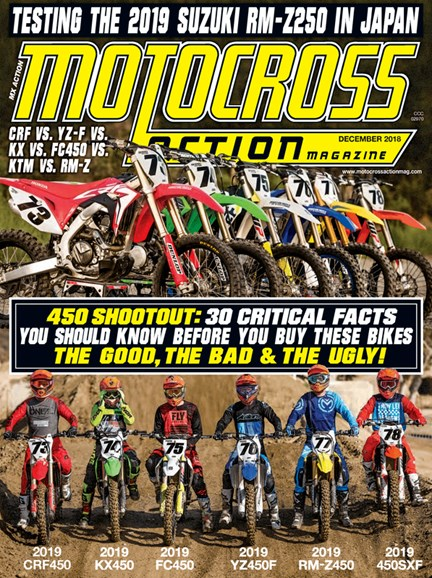 Motocross Action Cover - 12/1/2018