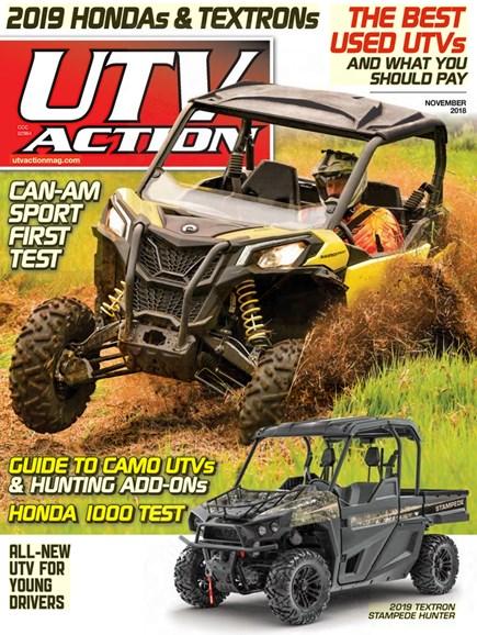 UTV Action Cover - 11/1/2018