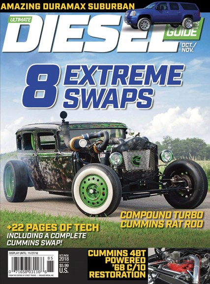 Ultimate Diesel Builder's Guide Cover - 10/1/2018