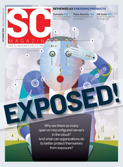 SC Magazine - U.S. edition Cover - 10/1/2018
