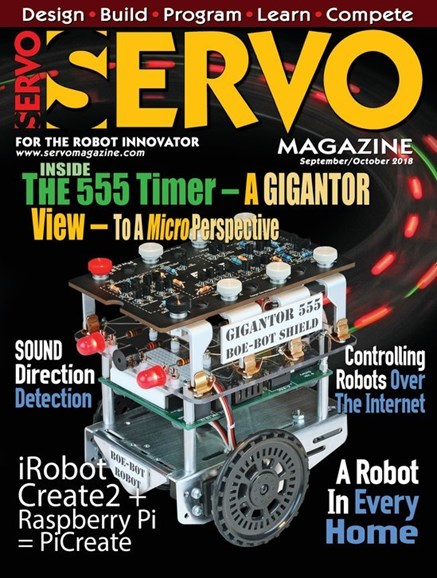 Servo Magazine Cover - 9/1/2018