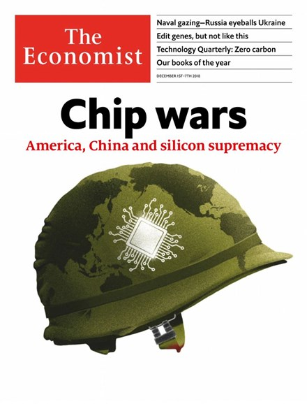 The Economist Cover - 12/1/2018