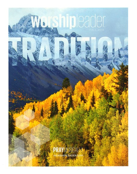 Worship Leader Magazine Cover - 9/1/2018
