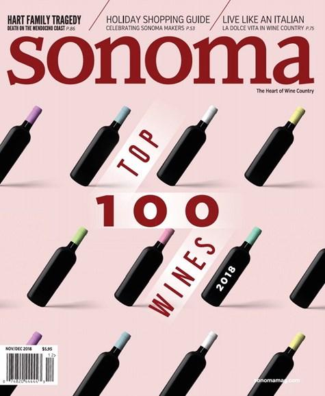 Sonoma Cover - 11/1/2018