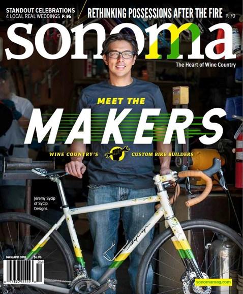 Sonoma Cover - 3/1/2018