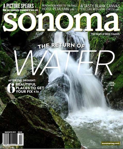 Sonoma Cover - 3/1/2017