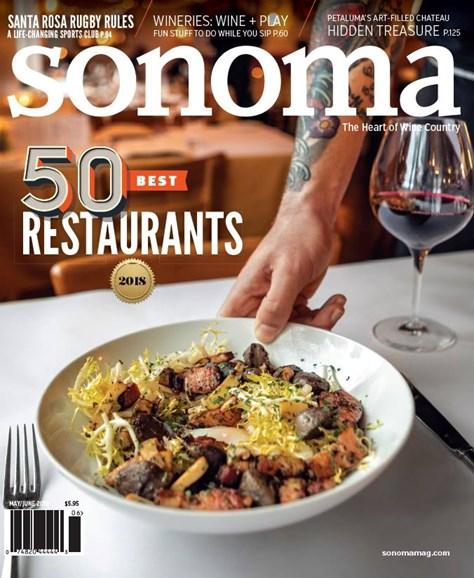 Sonoma Cover - 5/1/2018