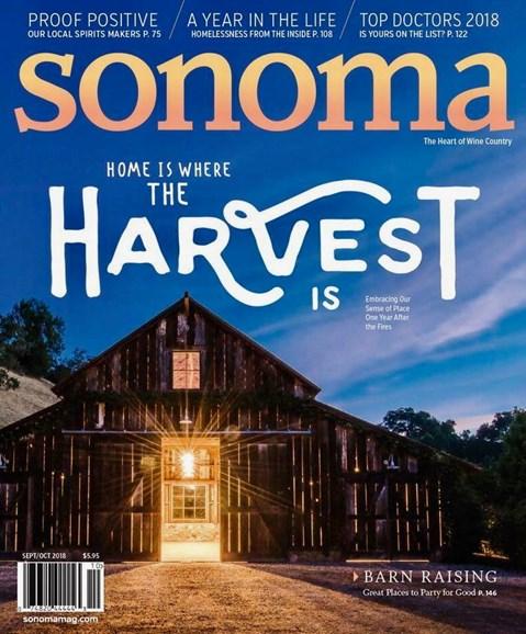 Sonoma Cover - 9/1/2018